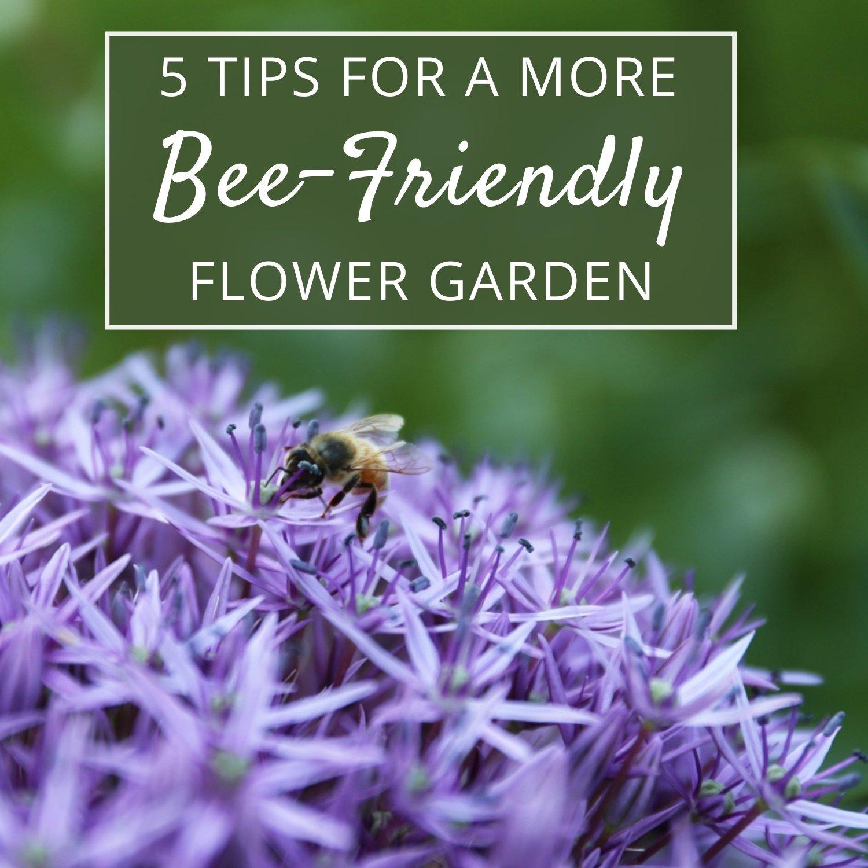 Bee-Friendly Flower Garden