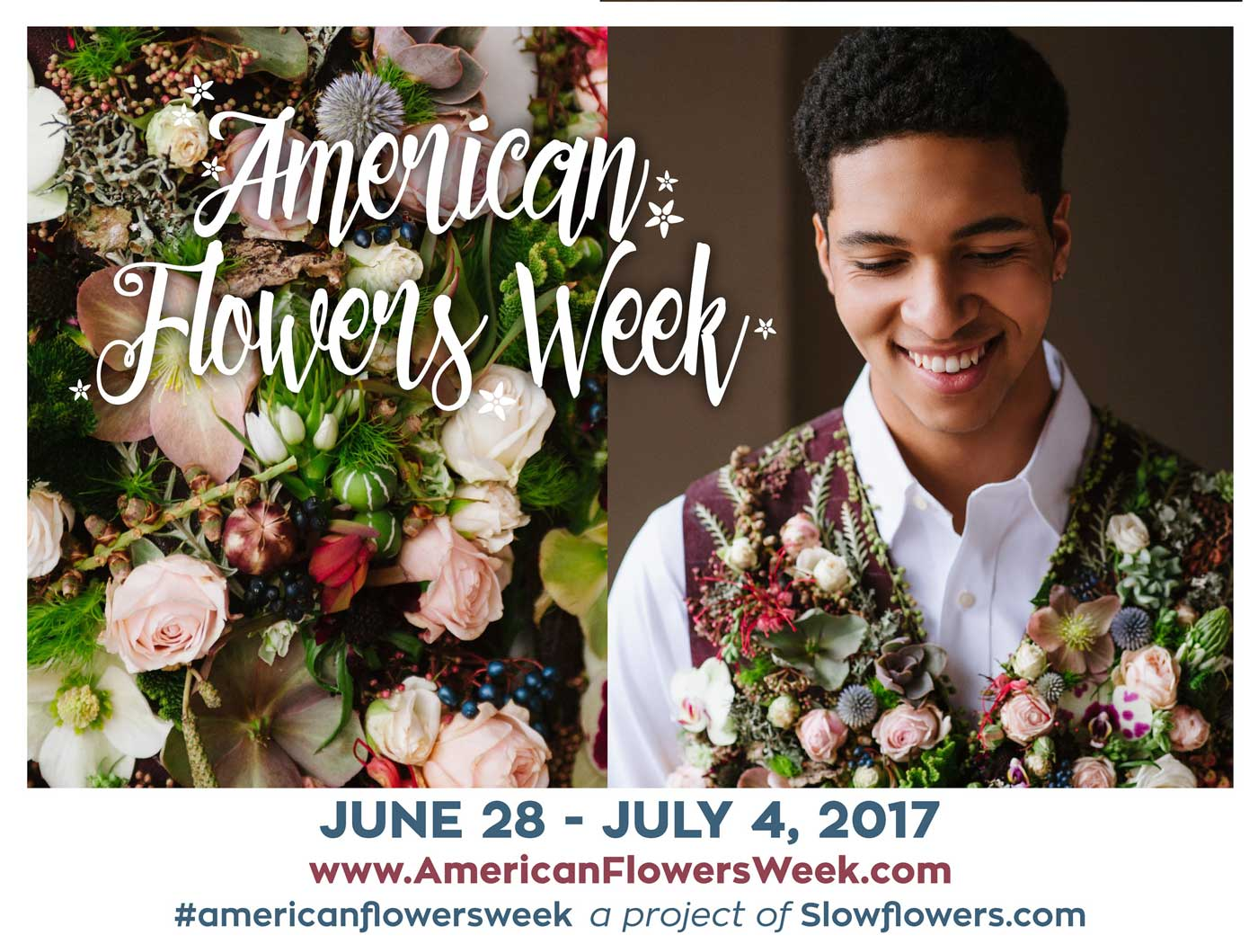 American Flowers Week: Make a Flower Arrangement and Join the Fun