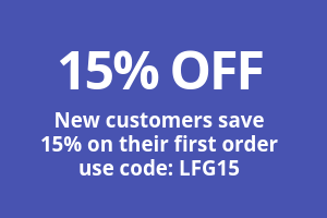 New Customers – Save 15%