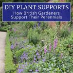 DIY Plant Supports: How British Gardeners Support Their Perennials